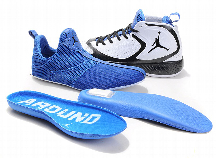 Air Jordan Shoes White Blue