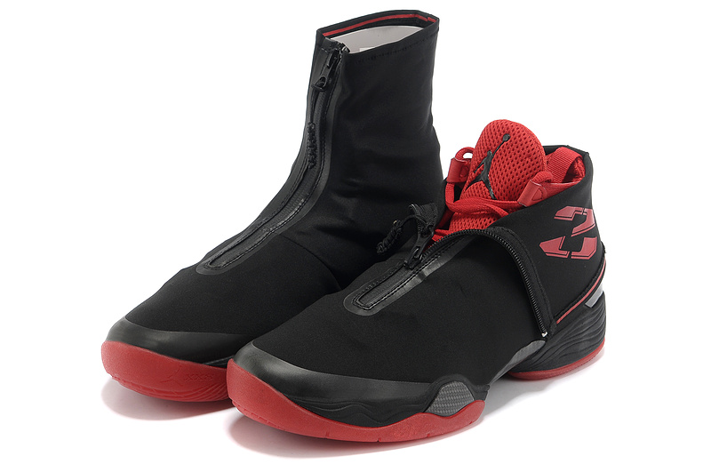 2013 Jordan 28 Black Red Shoes