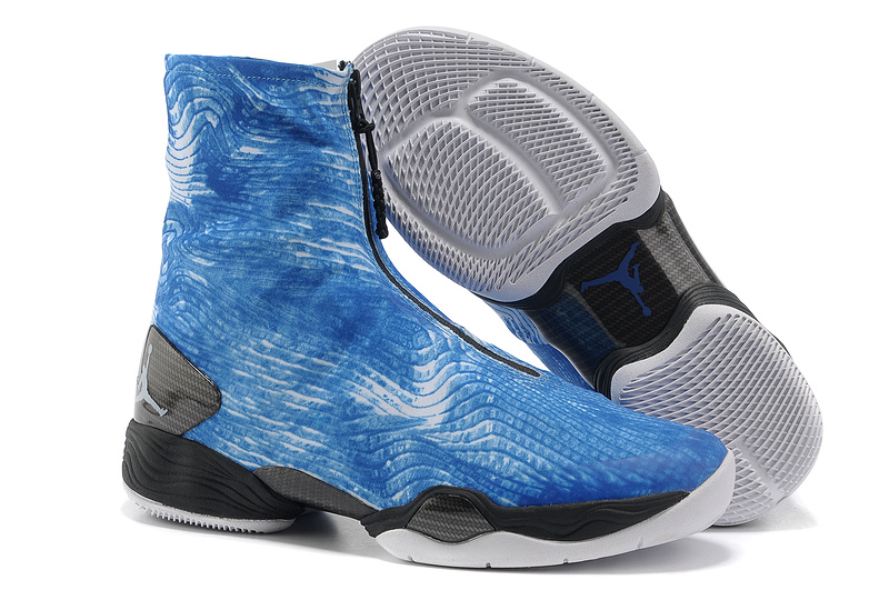 2013 Jordan 28 Blue Black Shoes