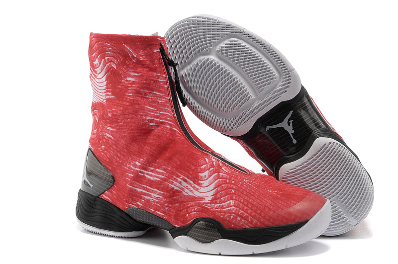 2013 Jordan 28 Red Black Shoes