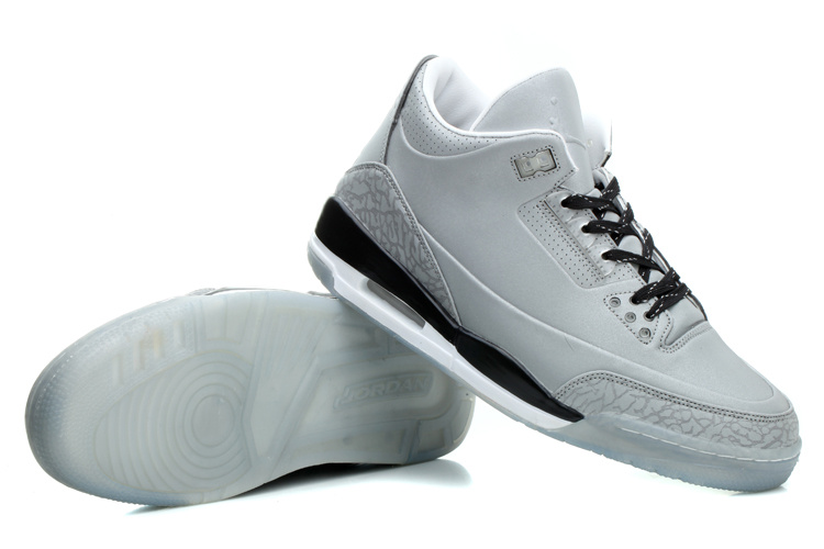 2014 New Jordan 5Lab3 White Grey Black Shoes