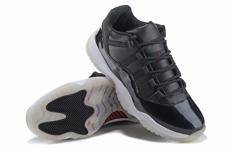 2015 New Air Jordan 11 Shoes Cool Black