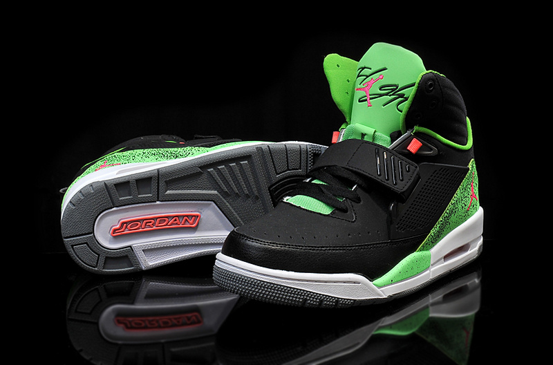 Air Jordan Flight 97 Black Green Red