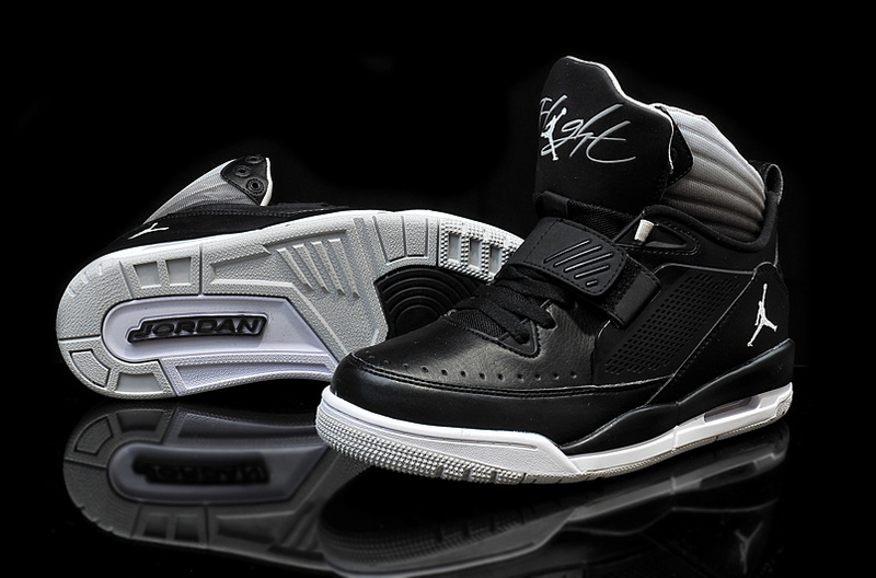 Air Jordan Flight 97 Black White Grey Shoes