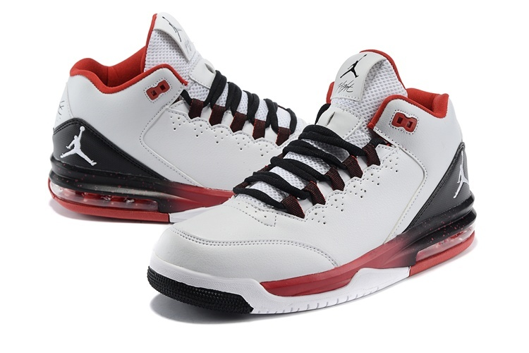 Air Jordan Flight Original White Black Red White Jumpman
