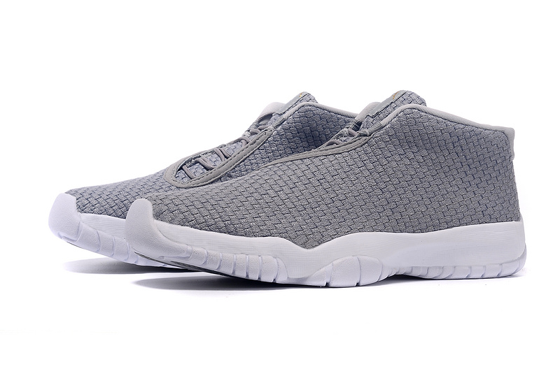 Air Jordan Future Shoes Grey White