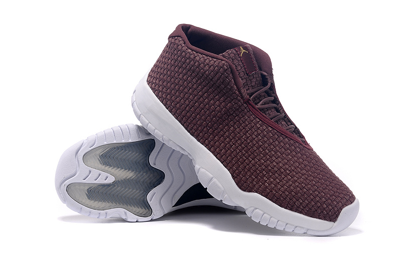 Air Jordan Future Shoes Wine Red White