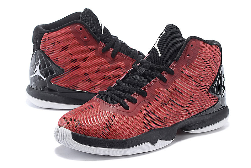 2015 Air Jordan Super Fly 4 Red Black