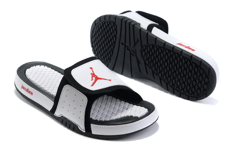 Air Jordan Hydro 2 White Black Red Sandal