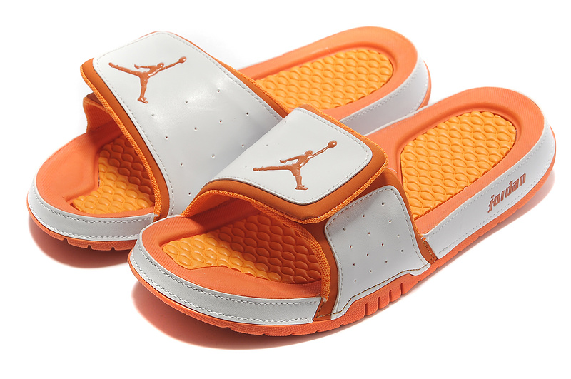 Air Jordan Hydro 2 White Orange Sandal