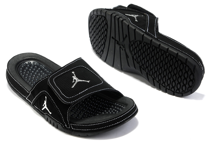 Air Jordan Hydro 5 All Black Sandal