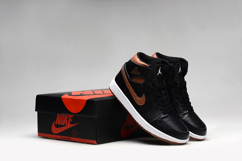 2015 Air Jordan 1 Retro Black Copper