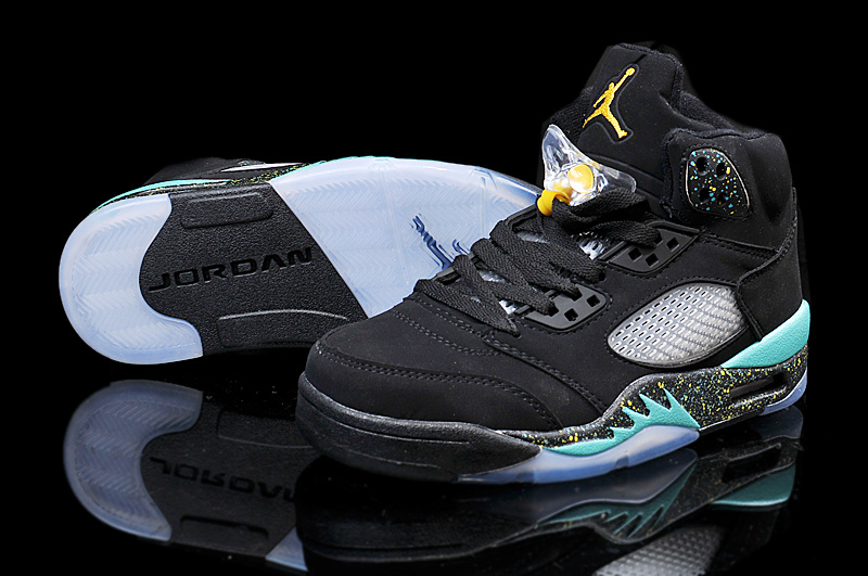 2015 Air Jordan 5 Retro Black Green
