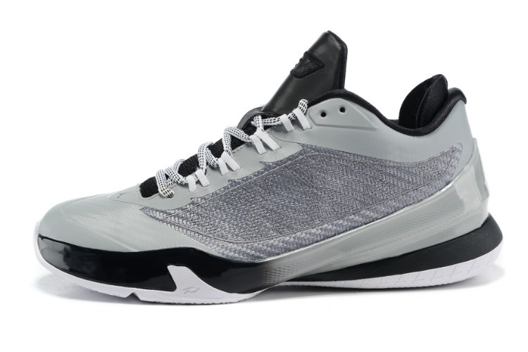 Nike Jordan CP3 VIII Grey Black Shoes