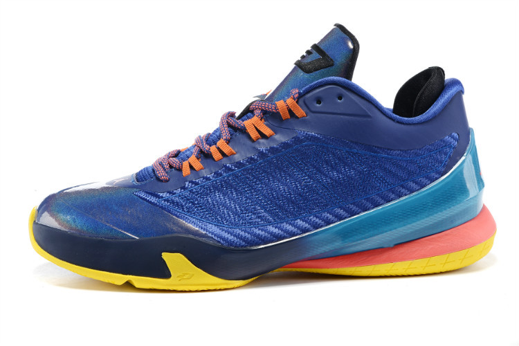 Nike Jordan CP3 VIII Sea Blue Pink Orange Shoes