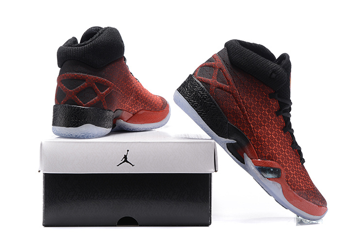 2016 Air Jordan 30 Westbrook Red Black Shoes