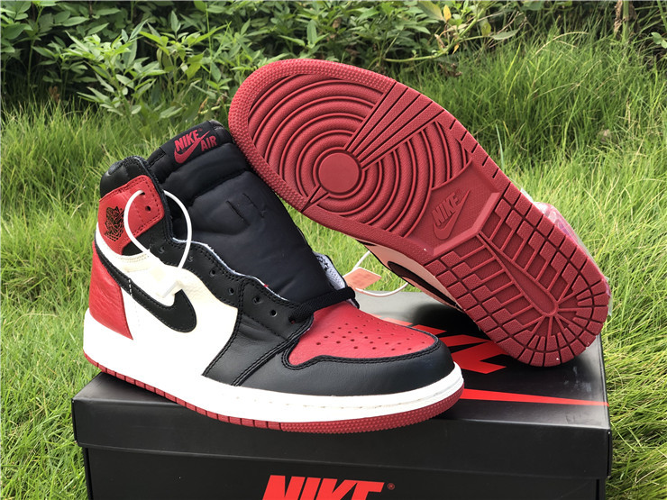 New Air jordan 1 retro high og bred toe shoes