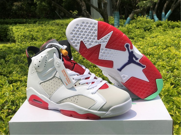New Air jordan 6 hare lover shoes