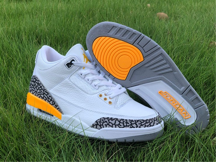 release New Air jordan 3 iii laser orange shoes