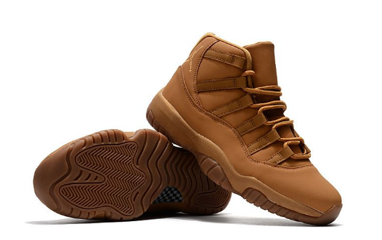 "Air Jordan 11 (XI) Retro ""Wheat"" Basketball Shoes"