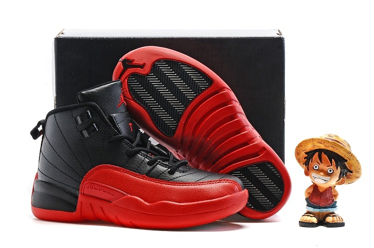 Air Jordan 12 Flu Game Shoes For Kids On Sale