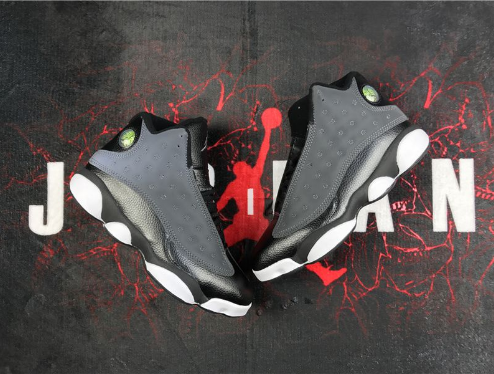 Air Jordan 13 Black Anthracite-Hyper Pink