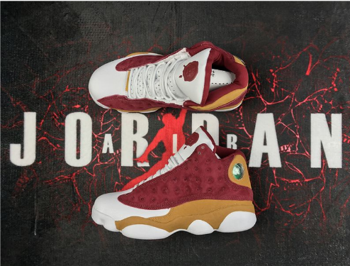 Air Jordan 13 Monta Ellis Premio BIN 23 Team Red Desert Clay White Shoes
