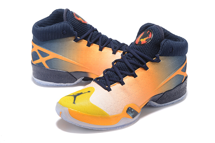 Air Jordan 30 Westbrook Yellow Black White Orange Shoes
