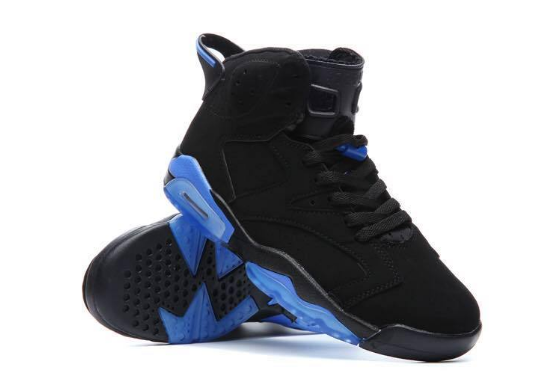 Air Jordan 6 XI UNC Black Blue
