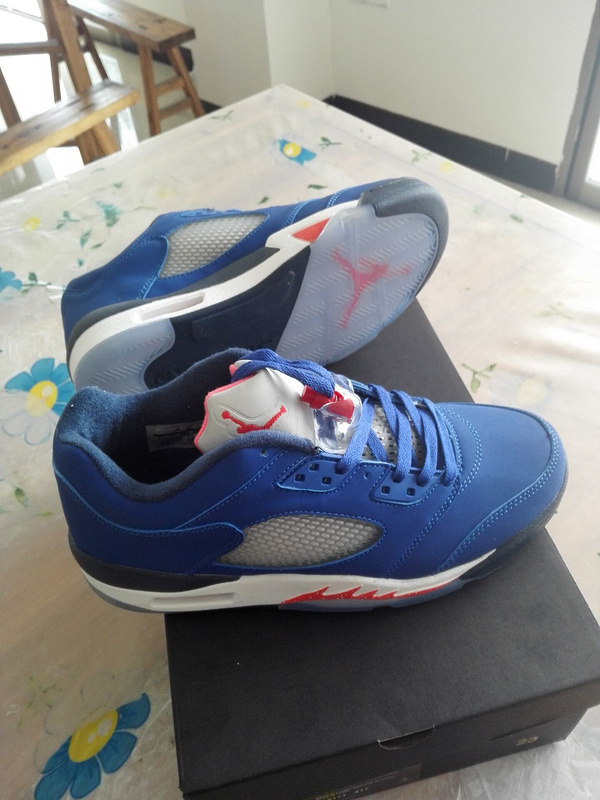 Air Jordan Anthony Blue White Basketball Shoes