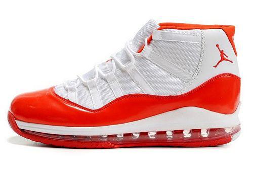11 White Orange Shoes