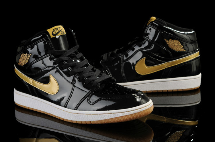 2015 Jordan 1 Retro Black Gold