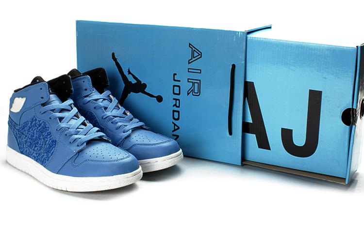2012 Air Jordan 1 Retro Classic Anniversary Blue