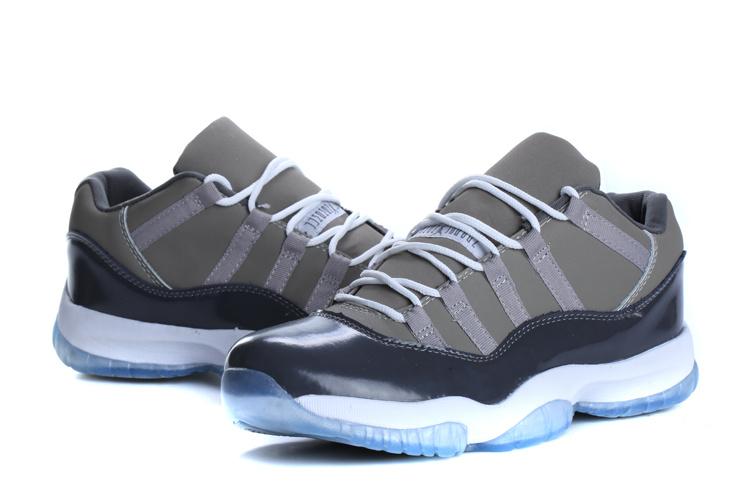 2015 Jordan 11 Low Cool Grey