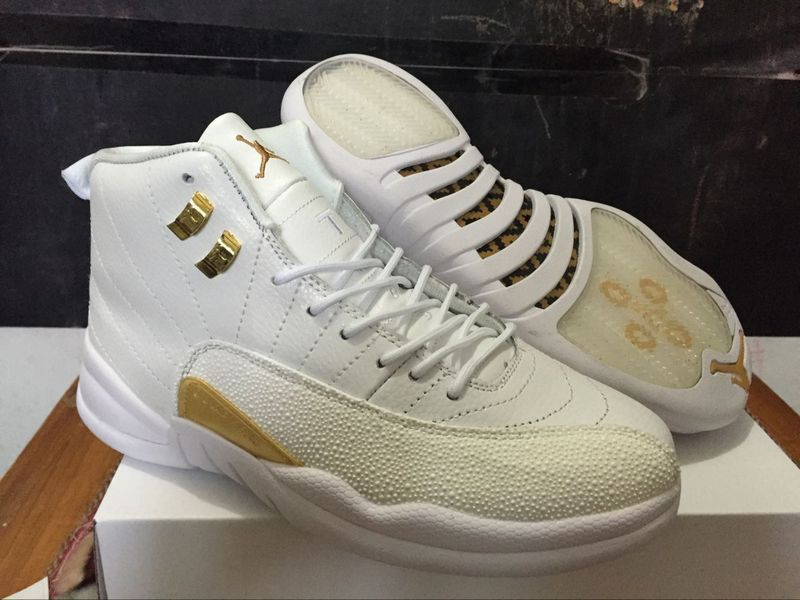 2016 Air Jordan 12 OVO White Shoes