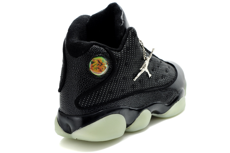 Air Jordan 13 Midnight Black White