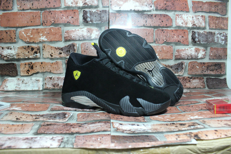 2015 Air Jordan 14 OG Black Ferrari Shoes
