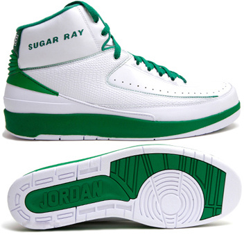 Cheap Authentic Air Jordan Retro 2 White Green Chrome