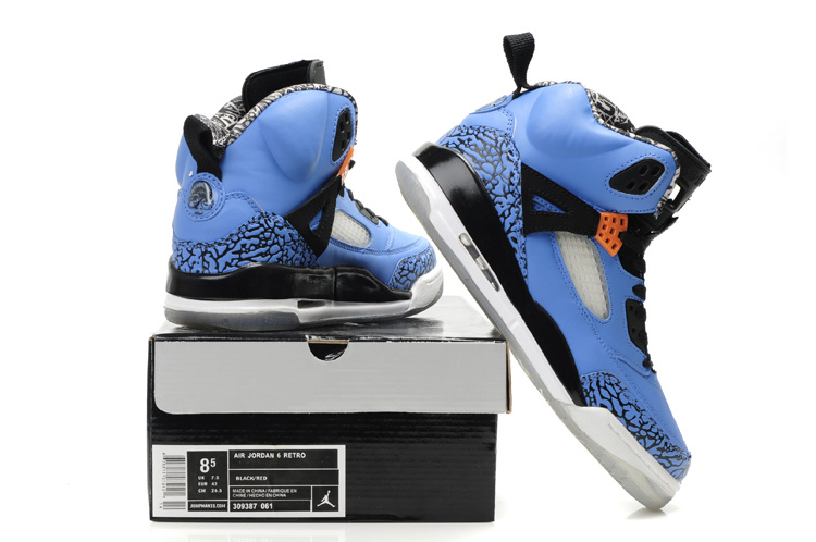 Authentic Air Jordan Shoes 3.5 Black Blue