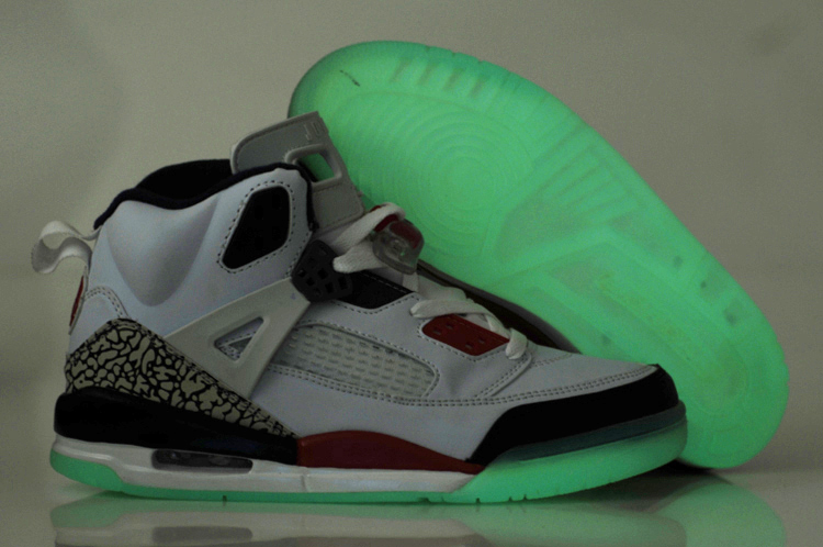 Nice Air Jordan 3.5 Midnight White Black Red Shoes