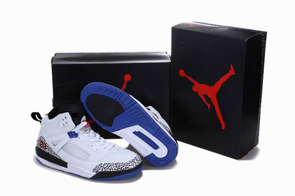 Popular Air Jordan 3.5 Reissue White Black Blue Cement Shoes