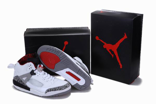 Popular Air Jordan 3.5 Reissue White Black Grey Cement Shoes