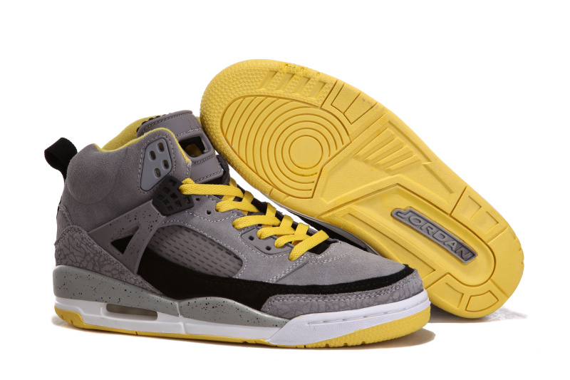 Air Jordan 3.5 Suede Grey Black White Yellow Shoes