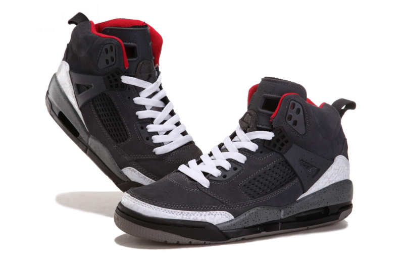 Air Jordan 3.5 Suede Grey White Black Red Shoes