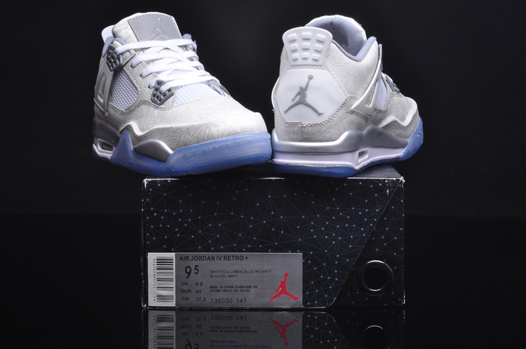 2015 Jordan 4 Laser 5LAB4 White Grey