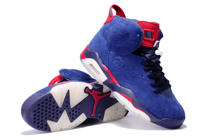 Air Jordan Red And Blue