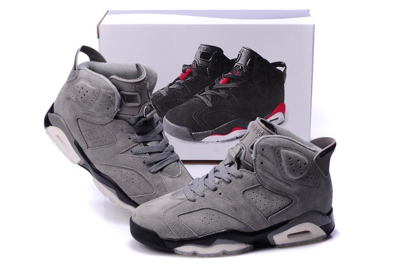 Air Jordan 6 Grey Black