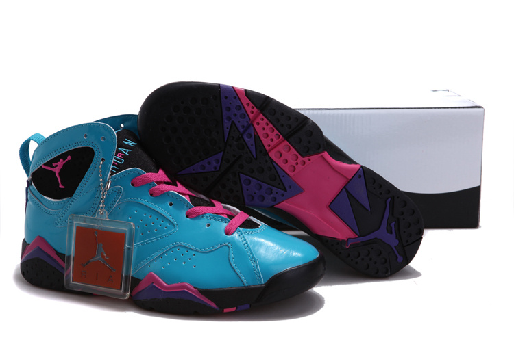 2015 Air Jordan Hardcover Blue Pink Black For Women