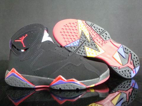 Air Jordan Retro 7 Dark Red Blue