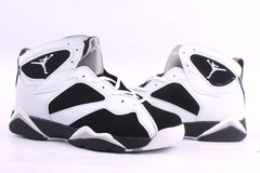 Air Jordan Retro 7 White Black